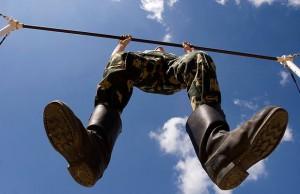 pull-ups at army