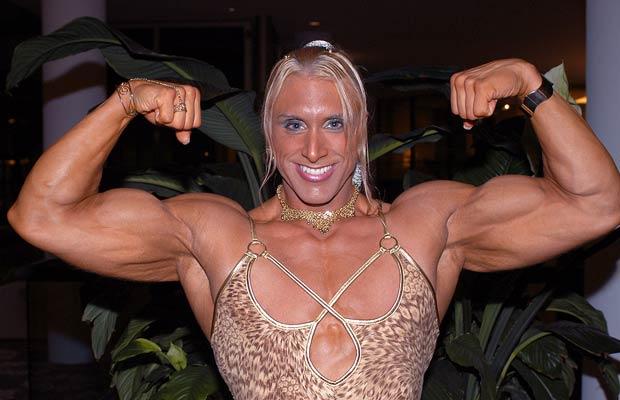 muscular women, weights, training