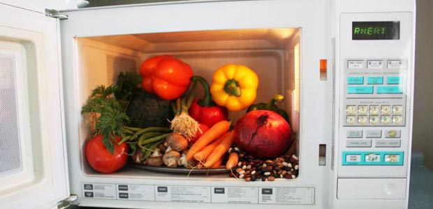 vegetables in microwave