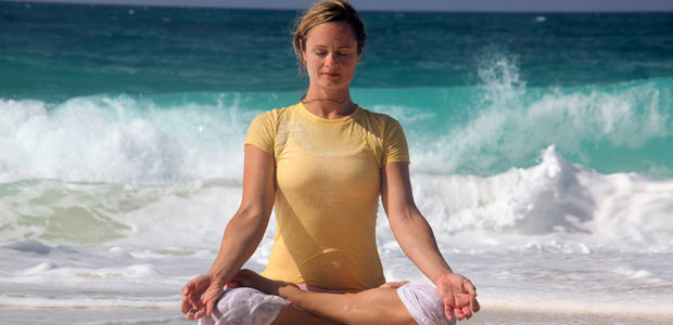 free diving fitness training - yoga